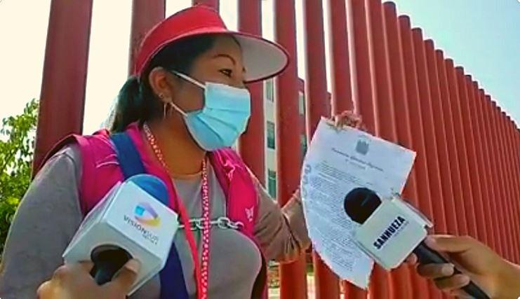DOCENTES PROTESTAN POR FALTA DE BENEFICIOS