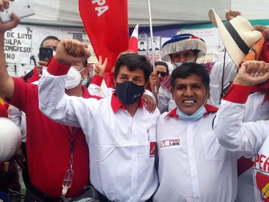 """Candidato Jaime Quito: """"Vamos a convocar a toda la población para la segunda vuelta"""""""