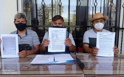 Arequipa: Denuncian usurpación de terrenos por falsos dirigentes en Yura