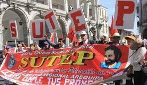 SUTEP: Presentarán denuncia penal contra autoridades educativas y políticas de Arequipa
