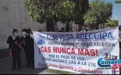 Arequipa: Trabajadores piden la 'salida inmediata' del Gerente Regional de Salud