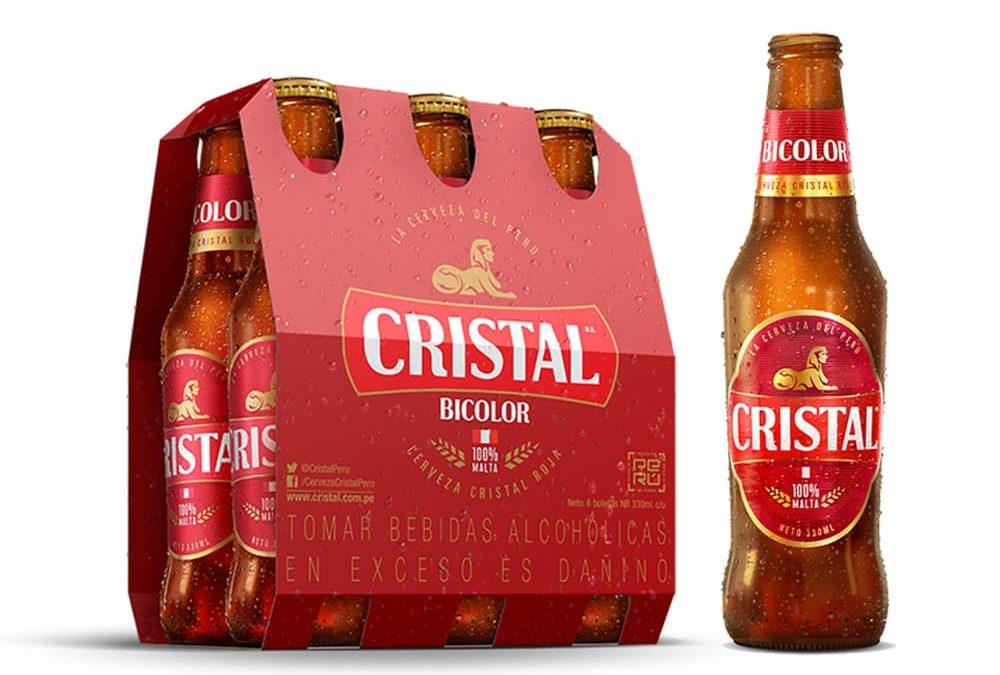 Backus lanzó la nueva Cristal Bicolor hecha de 100% malta