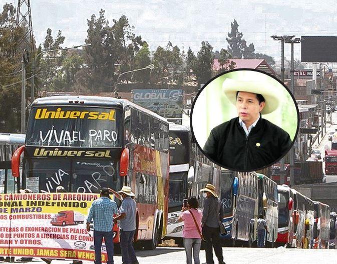 ANUNCIAN PARO DE TRANSPORTISTAS POR INCREMENTO DE PRECIO DEL COMBUSTIBLE